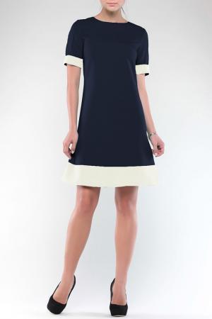 Платье REBECCA TATTI. Цвет: сине-молочный