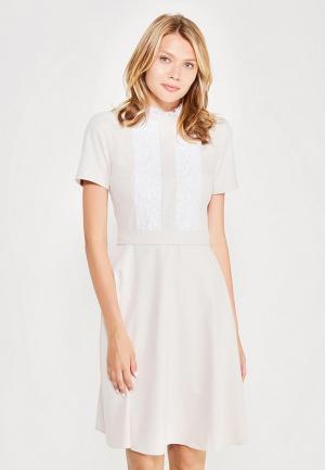 Платье Vittoria Vicci. Цвет: бежевый