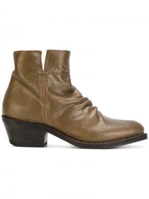 Ботинки Rusty Rocker Fiorentini +  Baker. Цвет: коричневый