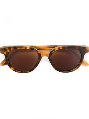Солнцезащитные очки Riviera Levante Retrosuperfuture. Цвет: коричневый