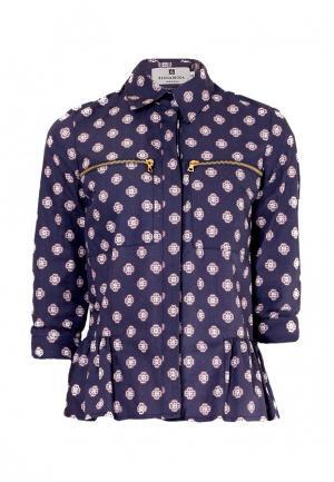 Блуза Bergamoda. Цвет: синий
