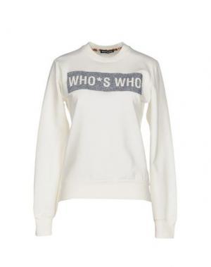 Толстовка WHO*S WHO. Цвет: белый