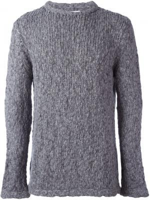 Трикотажный свитер Bauhaus YMC. Цвет: серый