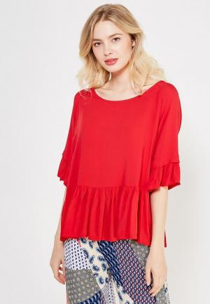 Блуза Care of You. Цвет: красный