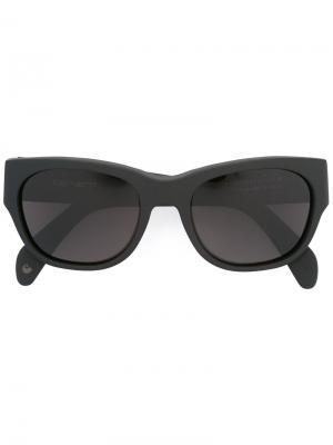 Солнцезащитные очки Hampton Retrosuperfuture. Цвет: чёрный