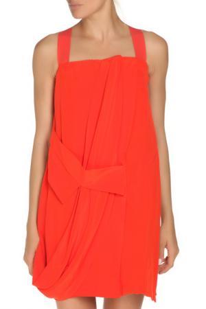 Платье GF FERRE. Цвет: оранжевый