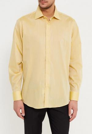 Рубашка VinzoVista. Цвет: желтый