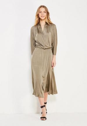 Платье Chapurin. Цвет: хаки