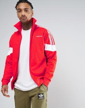 Adidas Originals Красная спортивная куртка CLR84 BK5913. Цвет: красный