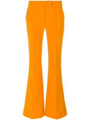 Расклешенные брюки Arthur Arbesser. Цвет: жёлтый и оранжевый