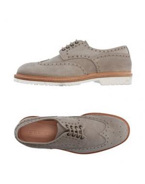 Обувь на шнурках REGAIN. Цвет: светло-серый