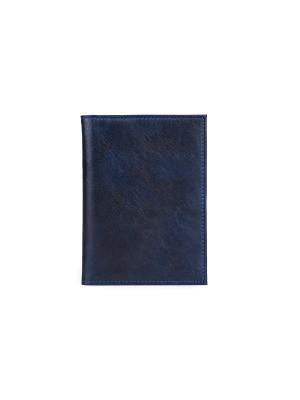 Обложка для документов VERSADO. Цвет: темно-синий