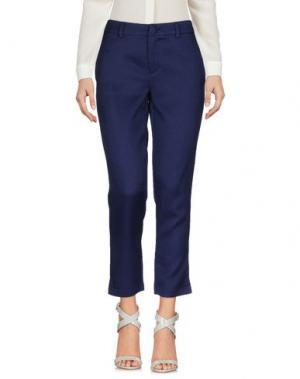 Повседневные брюки ANONYME DESIGNERS. Цвет: темно-синий