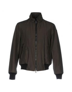 Куртка HISTORIC RESEARCH. Цвет: темно-зеленый