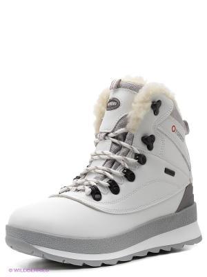 Ботинки Tordis. Цвет: белый