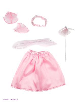 ФЕЯ, карнавальный костюм Волшебный мир. Цвет: розовый