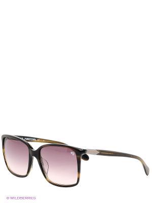 Солнцезащитные очки LM 536S 03 La Martina. Цвет: коричневый