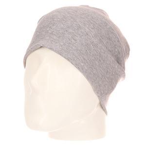 Шапка носок  Jersey Grey Melange Skills. Цвет: серый