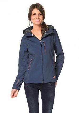 Куртка-софтшелл OCEAN Sportswear. Цвет: синий