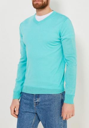 Пуловер Modis. Цвет: бирюзовый