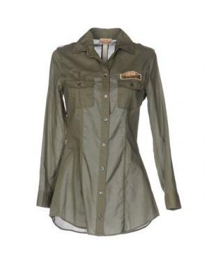 Pубашка DONNAVVENTURA BY ALVIERO MARTINI 1A CLASSE. Цвет: зеленый-милитари