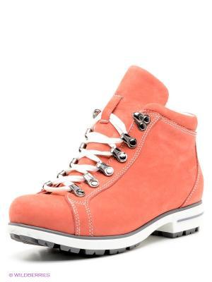 Ботинки WAYKO. Цвет: коралловый