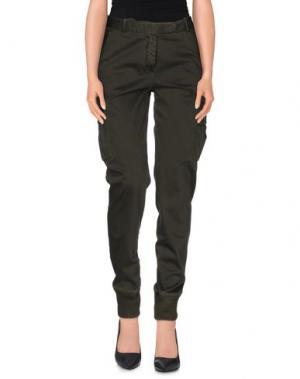 Повседневные брюки QCQC. Цвет: темно-зеленый