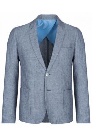 Пиджак Moschino Love. Цвет: голубой