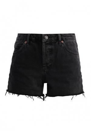Шорты джинсовые Topshop. Цвет: серый