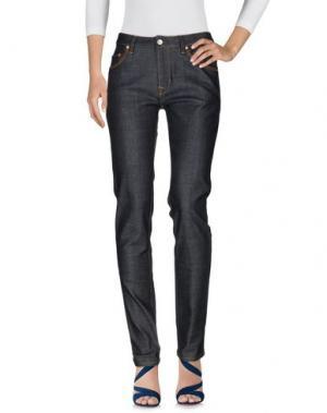 Джинсовые брюки WESC. Цвет: синий
