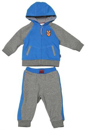 Спортивный костюм Little Marc Jacobs. Цвет: темно-серый