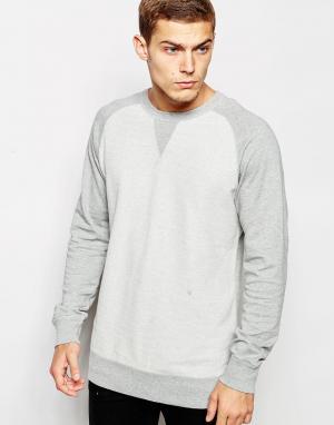 Junk De Luxe Свитшот Reverse Body. Цвет: серый