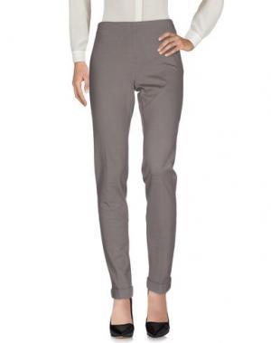 Повседневные брюки SEVENTY SERGIO TEGON. Цвет: свинцово-серый