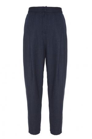 Шерстяные брюки Freshblood. Цвет: синий