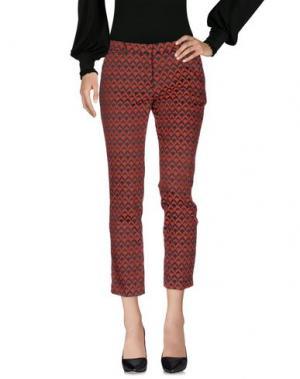 Повседневные брюки TRĒS CHIC S.A.R.T.O.R.I.A.L. Цвет: кирпично-красный