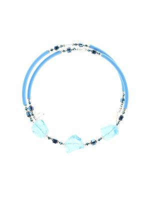 Колье Olere. Цвет: голубой, синий