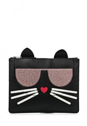 Чехол для iPad Karl Lagerfeld. Цвет: черный