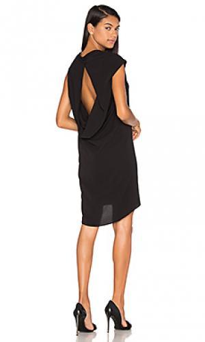 Мини платье the ravello TY-LR. Цвет: черный