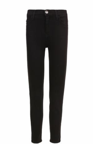 Укороченные джинсы-скинни Current/Elliott. Цвет: черный