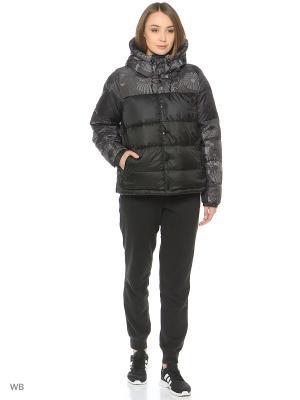 Куртка JACKET ES Adidas. Цвет: черный