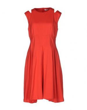 Короткое платье OBLIQUE CREATIONS. Цвет: красный