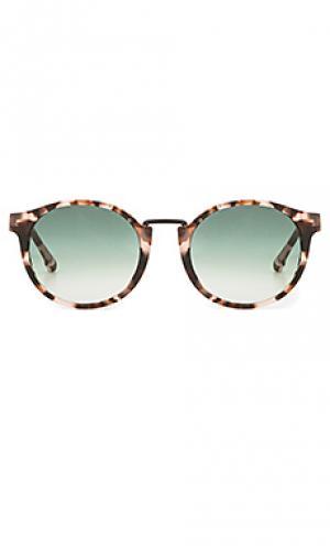 Солнцезащитные очки wendell Steven Alan. Цвет: коричневый