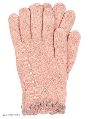 Перчатки Punta. Цвет: розовый