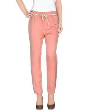 Повседневные брюки JFOUR. Цвет: розовый