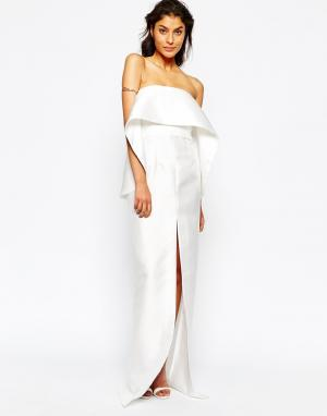 Solace Платье макси London Chakra. Цвет: белый