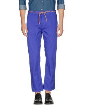 Повседневные брюки MARC JACOBS. Цвет: фиолетовый