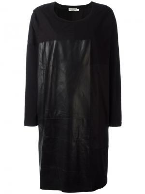 Платье Diz Ivan Grundahl. Цвет: чёрный
