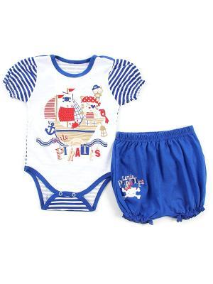 Комплект одежды Апрель. Цвет: синий, белый, красный