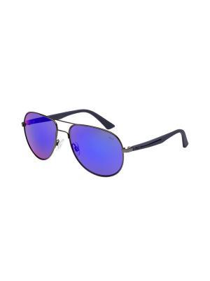 Солнцезащитные очки Puma. Цвет: белый, серебристый