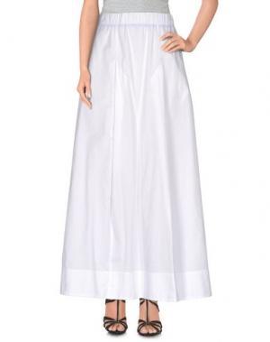Длинная юбка ..,MERCI. Цвет: белый